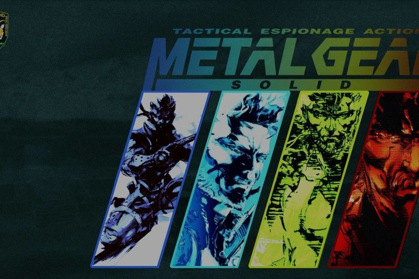 metal gear solid one wallpapers - DriverLayer Search Engine