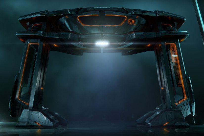 Recognizer from Disney's Tron Legacy Movie wallpaper - Click picture for  high resolution HD wallpaper