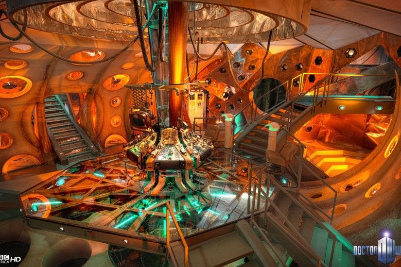 Inside the 11th Doctor's TARDIS