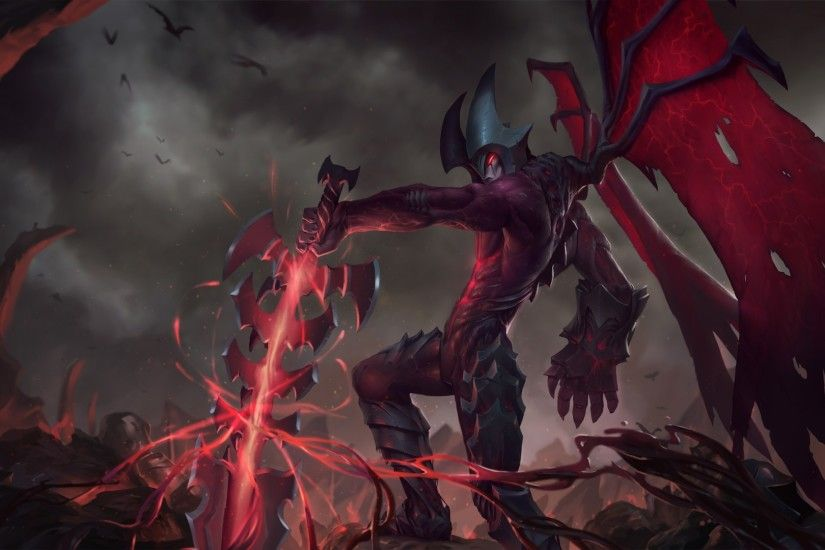 12 Aatrox (League of Legends) HD Wallpapers | Backgrounds - Wallpaper Abyss
