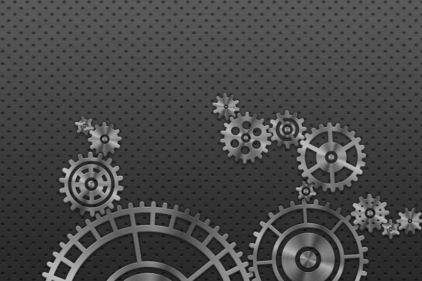 Metallic gears wallpaper #19259