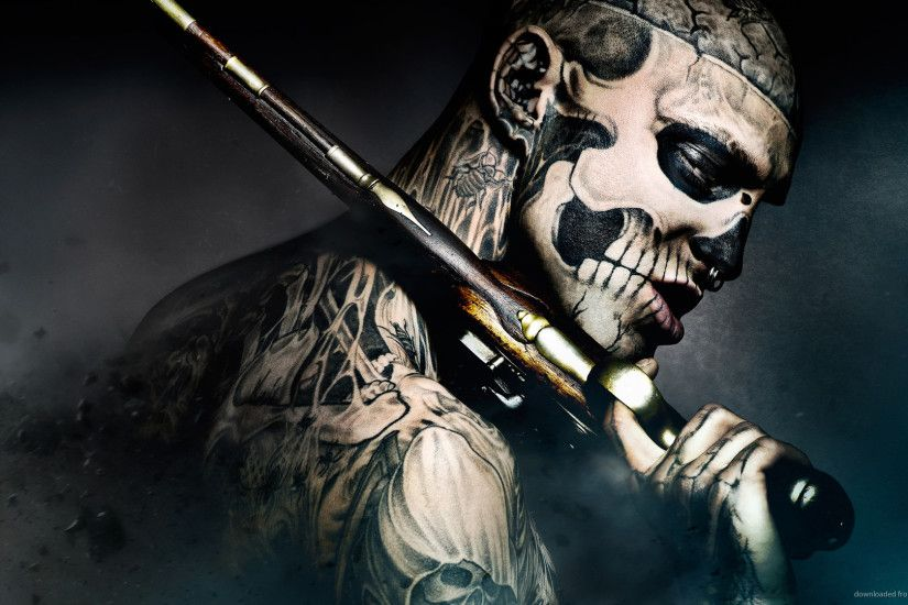0 Guns Attract Monsters Mobius Engine HD Zombie Boy With A Gun Wallpaper