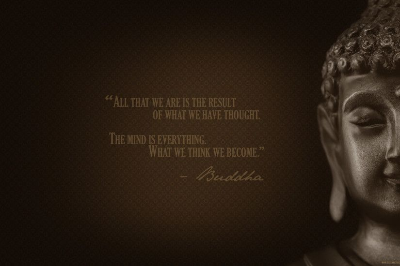 Mesmerizing Motivational Wallpaper On Thoughts by Buddha