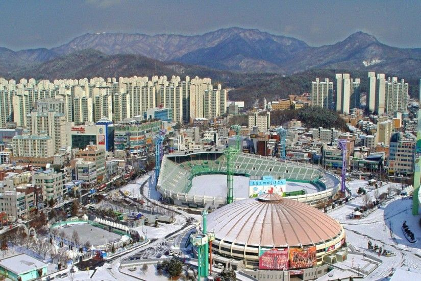 Baseball South Korea Suwon Stadium Civils