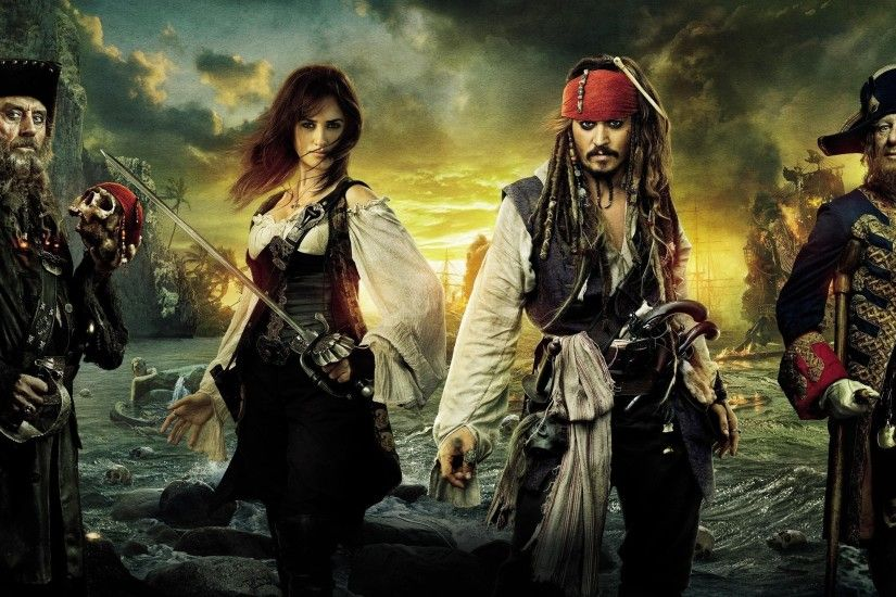 movies, Pirates Of The Caribbean: On Stranger Tides, Jack Sparrow, Johnny  Depp, Penelope Cruz Wallpapers HD / Desktop and Mobile Backgrounds