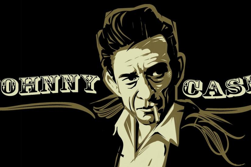 JOHNNY CASH country gospel rock roll wallpaper background