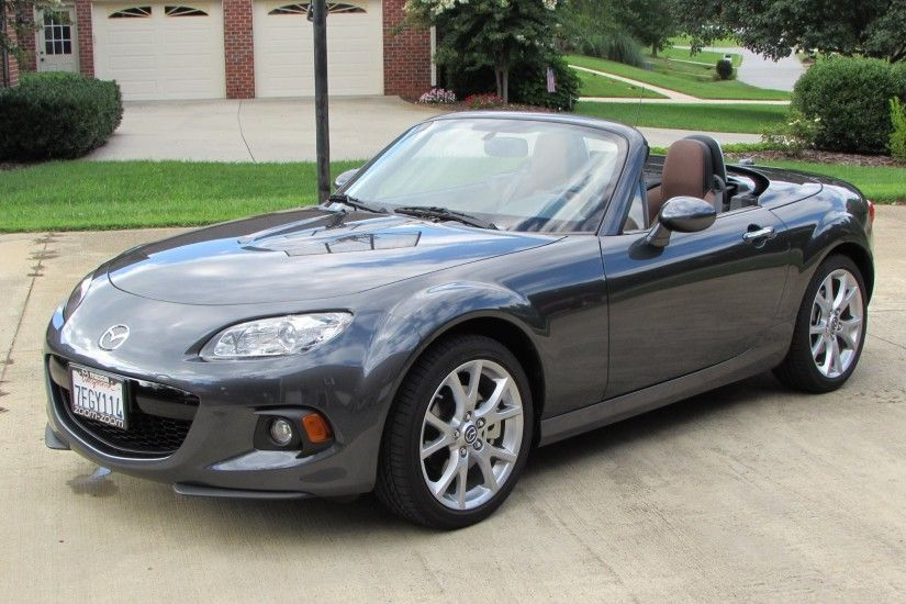 2014 / 2015 Mazda MX-5 Miata Grand Touring Start Up, Exhaust, Test Drive,  and In Depth Review - YouTube