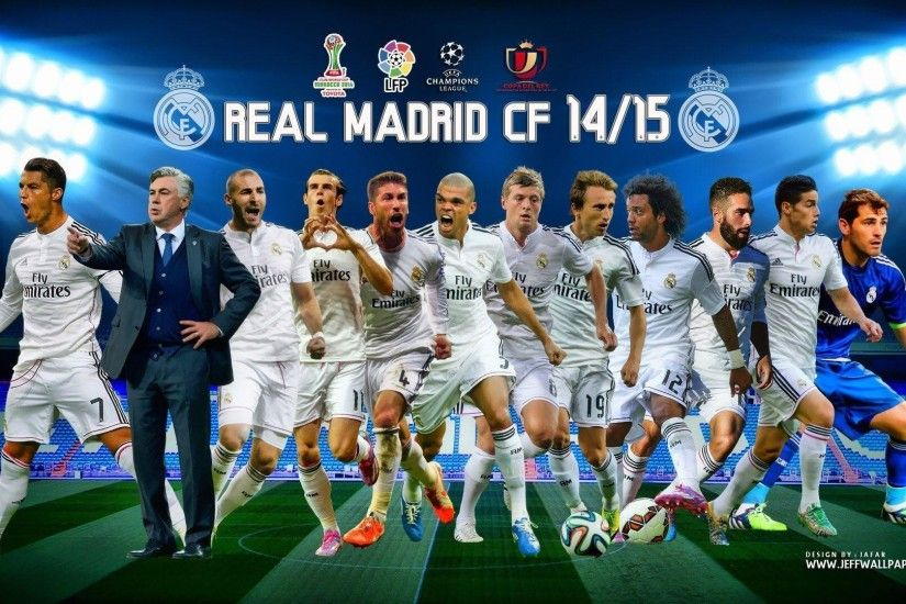 Real Madrid CF Logo Wallpaper HD #10497 Wallpaper | Best Wallpaper HD
