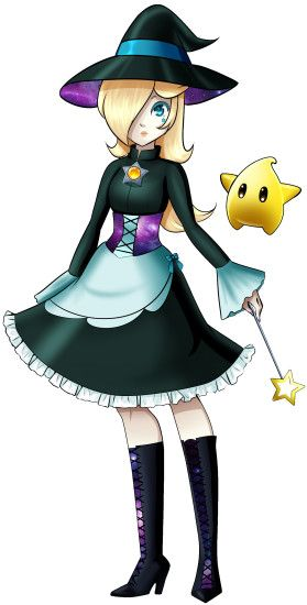 HD Wallpaper and background photos of Rosalina and Luma - Halloween for  fans of Princess Peach,Daisy and Rosalina images.