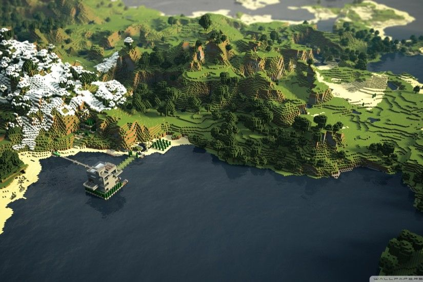 Amazing Minecraft Backgrounds (5 Wallpapers)