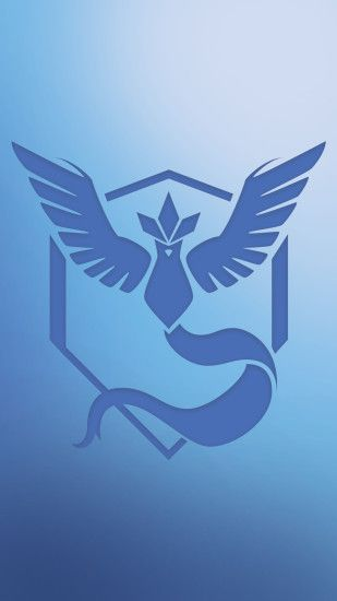 FANARTTried my hand at a Team Mystic minimalist phone wallpaper!