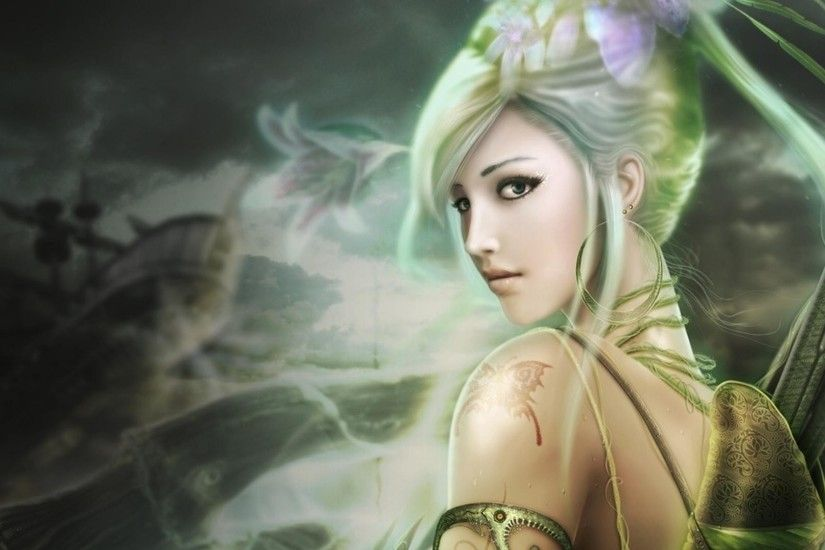 21 Fairy Wallpapers, Fantasy Fairy Backgrounds, Images, Pictures .