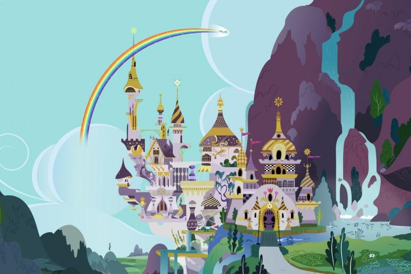 Canterlot background