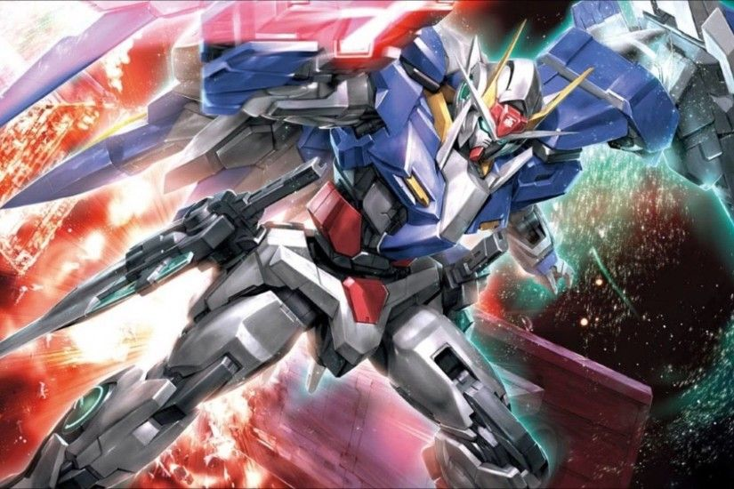Images For > Gundam 00 Raiser Wallpaper