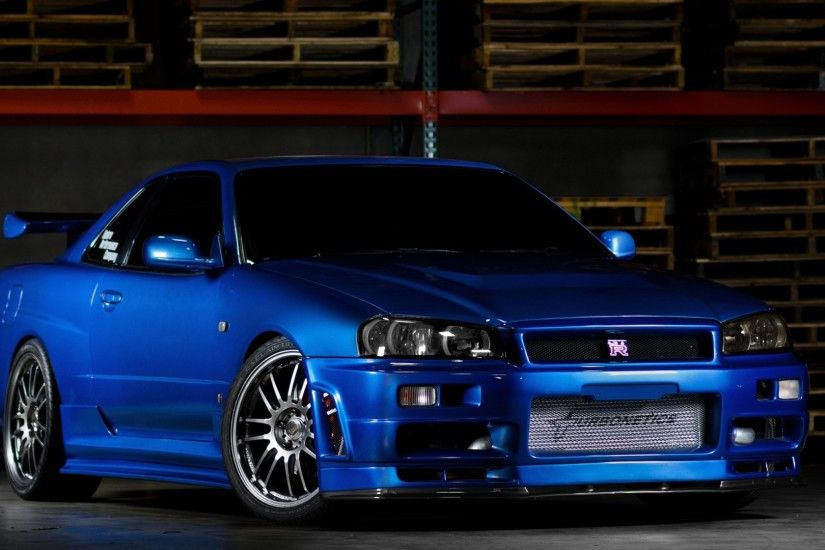 Nissan Skyline GTR R34 Wallpapers (77 Wallpapers)