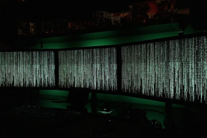 The Matrix (Preview) on Eyefinity (5760x1080) - Screensaver for  Eyefinity/Surround