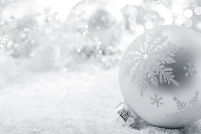 ... wallpapers happy holidays; 2560x1600 snowflakes snow bokeh ball toy christmas  white ...