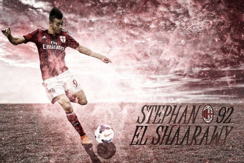 El Shaarawy Wallpaper 2015 by ChrisRamos4 El Shaarawy Wallpaper 2015 by  ChrisRamos4