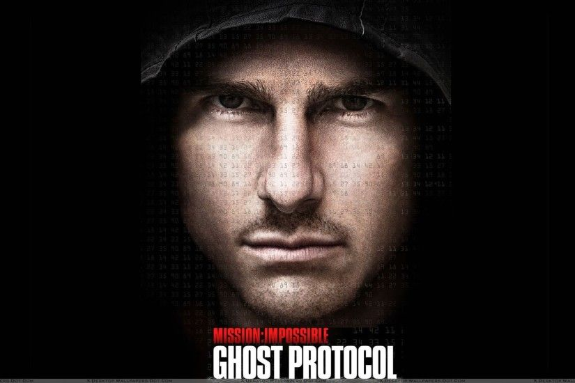 "You are viewing wallpaper titled ""Mission Impossible Ghost Protocol Tom  Cruise ..."