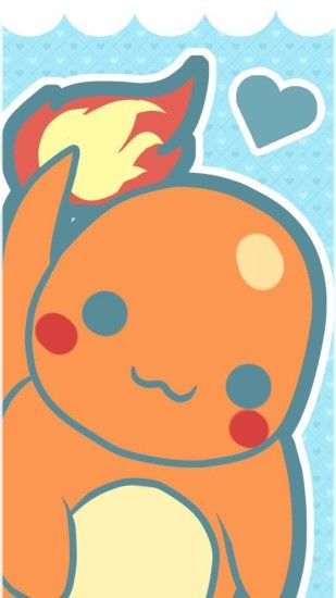 This Charmander wallpaper is so cute, it's easy to forget that he's a  fire-breathing dragon!