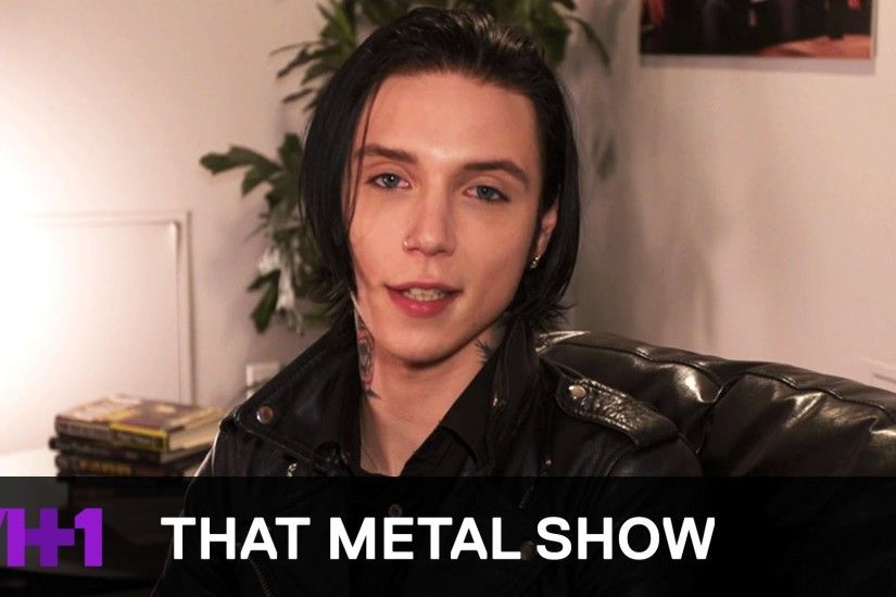 That Metal Show | Andy Biersack: Behind The Scenes | VH1 Classic - YouTube