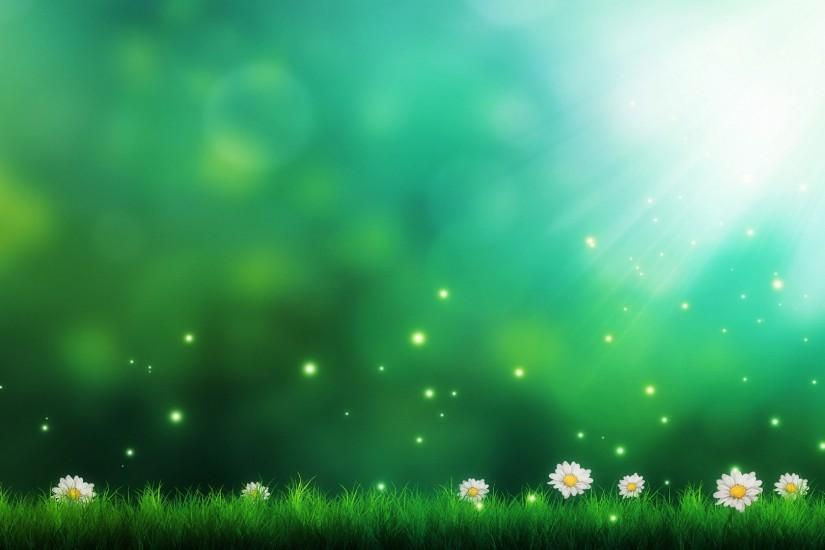 Description: The Wallpaper above is Daisies green background Wallpaper in  Resolution 1920x1080. Choose your Resolution and Download Daisies green  background ...