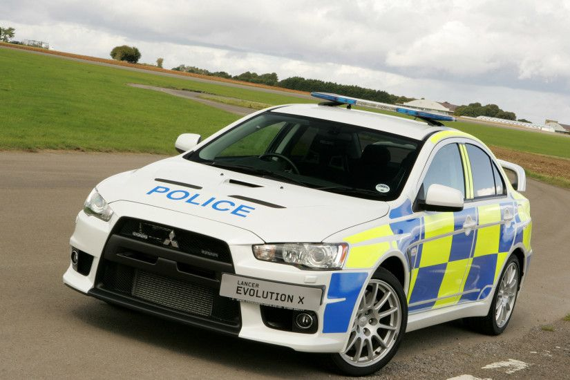 Police Car Hd Mitsubishi Lancer Evolution X Edition Walls 504080 Wallpaper  wallpaper