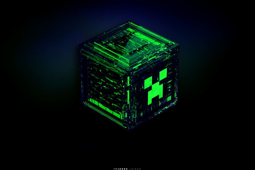 creeper minecraft green wallpaper and background