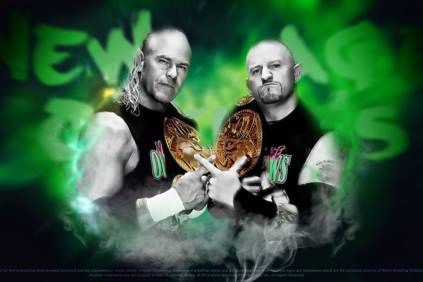 ... New Age Outlaws | WWE HD | Wallpaper made BM by BM-Designer
