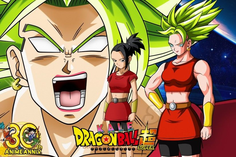 ... Dragon Ball Super - Female Saiyan Kale Wallpaper by WindyEchoes