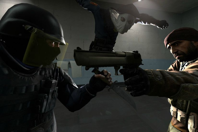 Counter Strike Source Wallpaper ①