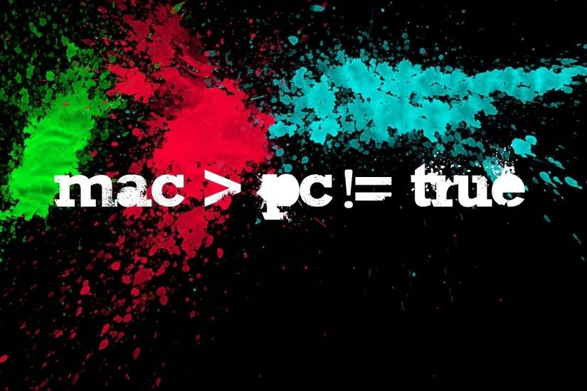 Preview wallpaper mac, vs, pc, true, versus 1920x1080