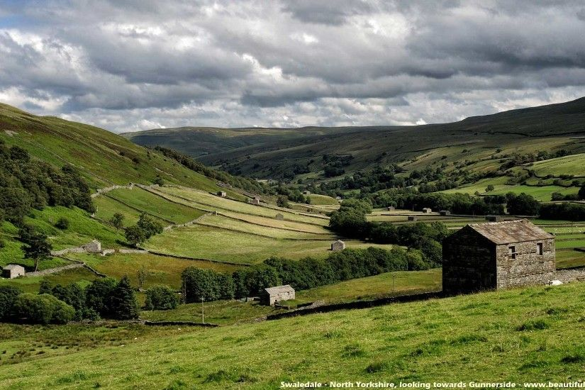 Beautiful Britain - Yorkshire Wallpaper (in recognition of Yorkshire Day -  1st August every year) Quote:- 'Nobody is perfect, but if you're from  Yorkshire, ...