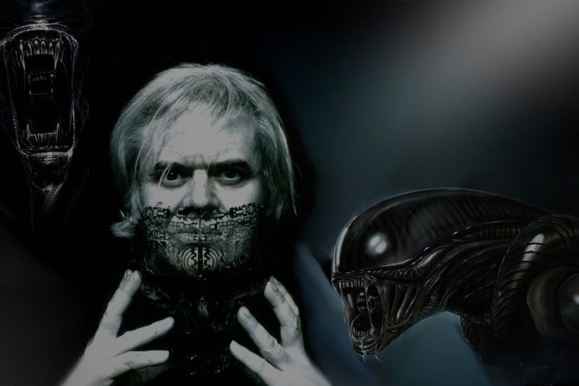 H.R. Giger (collage by ienamaculata user) wallpaper | 0x0 | 625389 |  WallpaperUP