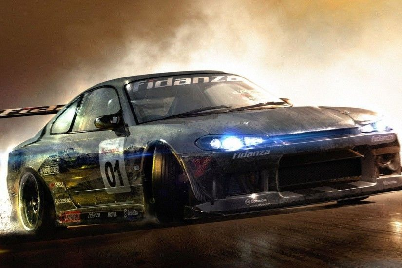 Wallpapers For > Hd Drift Car Wallpapers 1080p