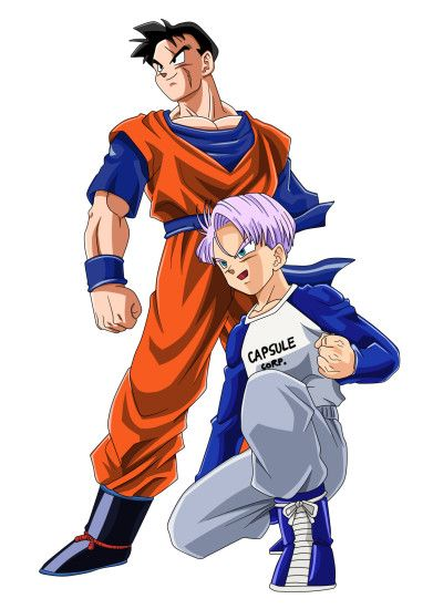 Gohan del Futuro y Trunks - Dragón Ball super