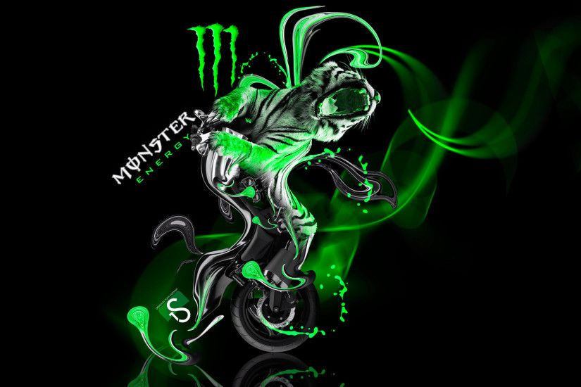 Wallpapers-Monster-Energy-Moto-Yamaha-Vmax-Fantasy-Green-