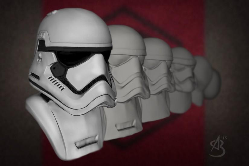 First Order Storntrooper, 123D Creature & 123D Sculpt+.