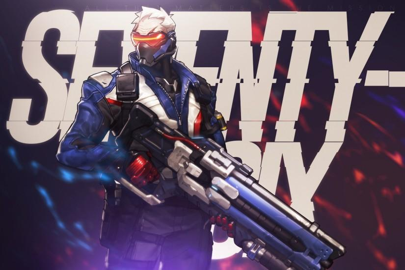 soldier 76 wallpaper 1920x1080 for pc