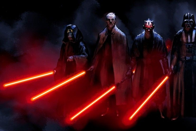 Blue Count Dooku Dark Side Darth Maul Sidious Tyranus Vader Lightsabers Red  Sith Star Wars ...