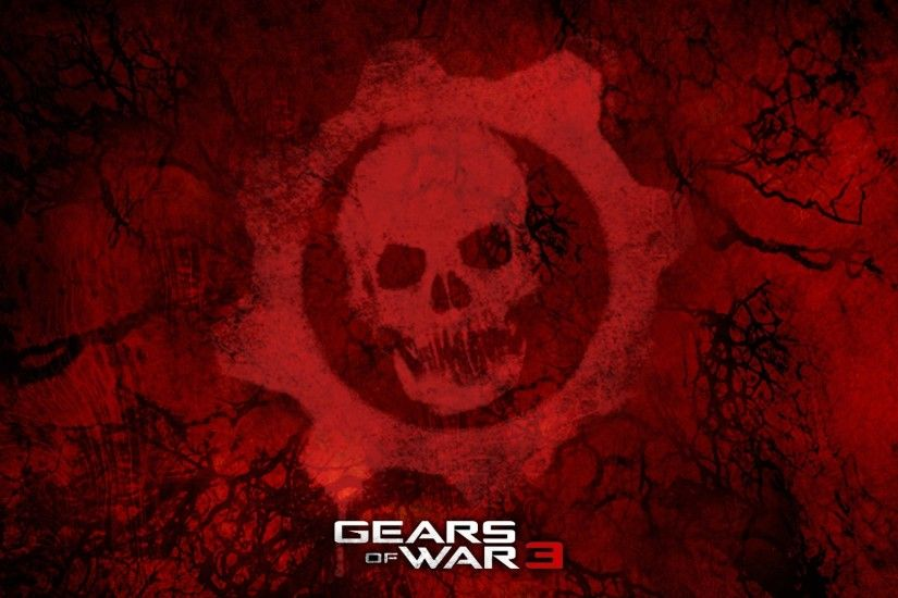 Preview wallpaper gears of war 3, games, red 3840x2160