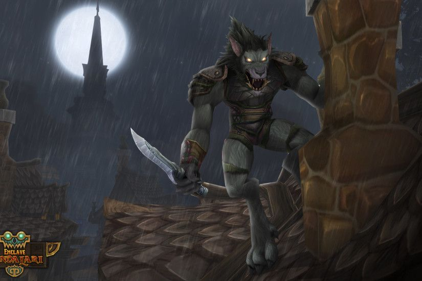 Worgen Rogue by hipnosworld Worgen Rogue by hipnosworld
