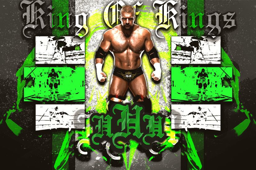 Double-A1698 3 0 Triple H Wallpaper (1080p) by DarkVoidPictures
