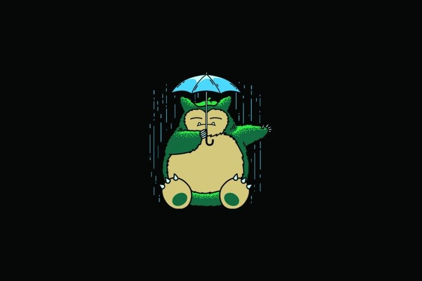 My Neighbor Totoro Totoro Anime Umbrella rain wallpaper | 1920x1080 | 91379  | WallpaperUP