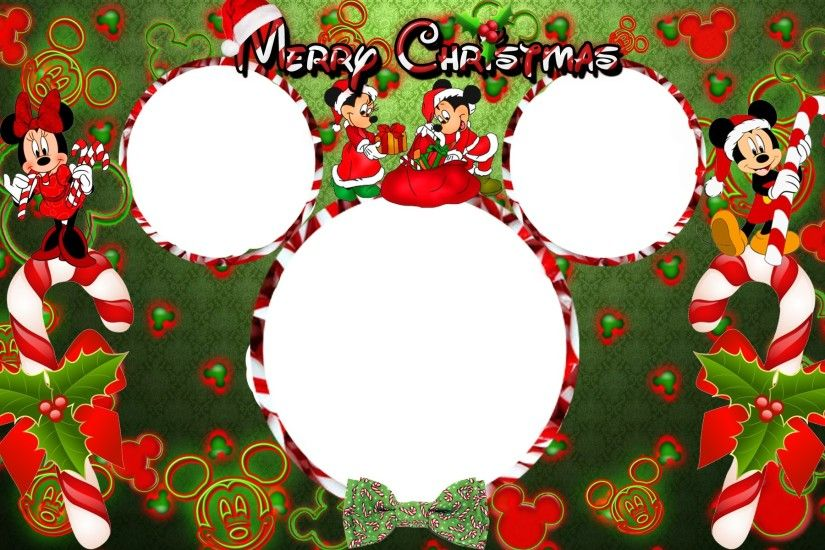 Christmas Disney Frames Photos.