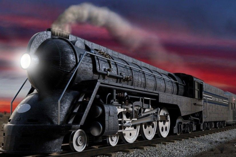 Pix For > Steam Train Wallpaper Hd