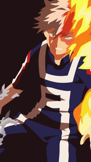 Anime My Hero Academia Shouto Todoroki. Wallpaper 695174