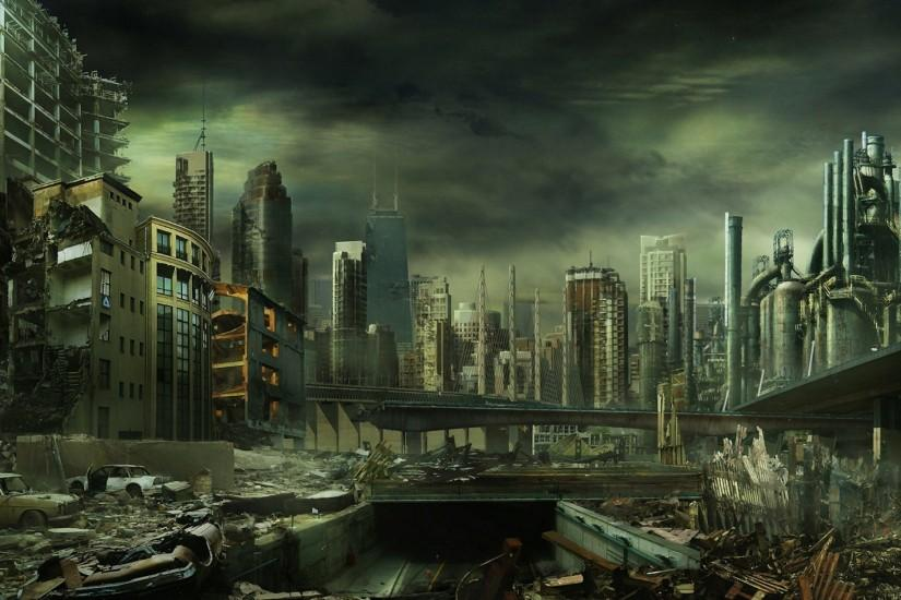 See the World's End with These Wallpapers of Post-Apocalypstic Ruins. Sci  Fi - Post Apocalyptic Wallpapers and Backgrounds