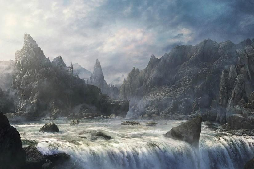 new fantasy landscape wallpaper 2558x1575 for samsung galaxy