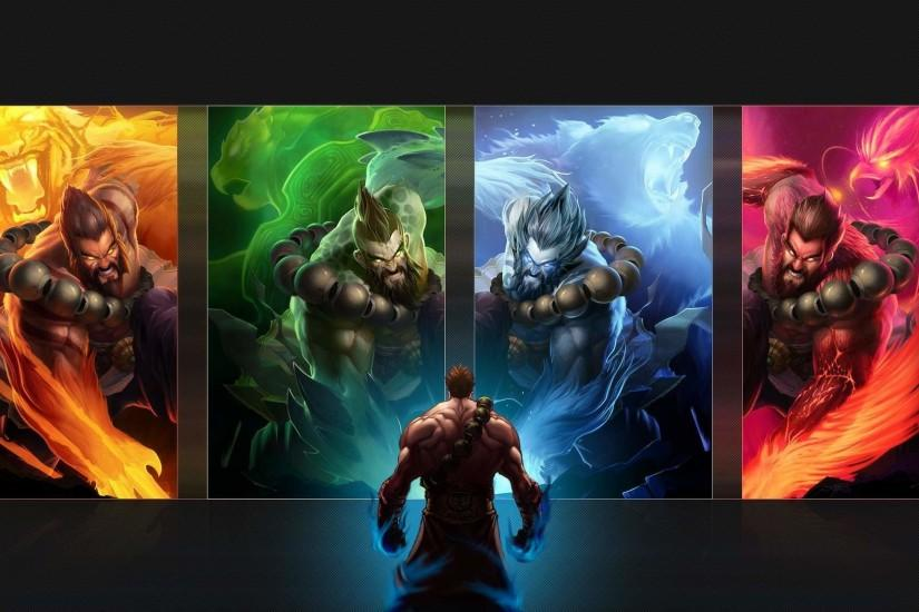 beautiful league of legends background 1920x1080 for hd 1080p